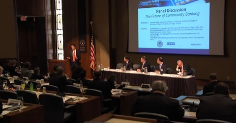 2014 Conference Highlights Video, The Future of Community Banking Discussion Panel