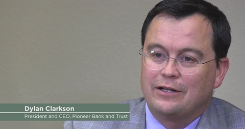 Dylan Clarkson, Pioneer Bank and Trust
